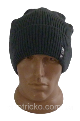 Шапка мужская зимняя, флис м 8238