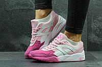 Подростковые спортивные кроссовки из замша, на пене, от фирмы - Puma, не дорого