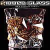 """Стакан-бриллиант - """"Ribbed Glass"""""""