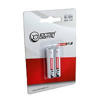 Аккумулятор мини пальчик Extradigital Energy UP AAA 1000mAh, Ni-MH, 2 шт