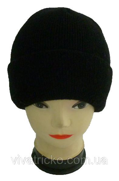 Мужская шапка зимняя, флис м 8327, разные цвета