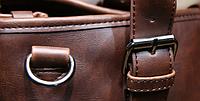 Мужская кожаная сумка. Модель 61216, фото 6