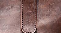 Мужская кожаная сумка. Модель 61216, фото 7