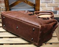 Мужская кожаная сумка. Модель 61216, фото 5