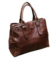 Мужская кожаная сумка. Модель 61216, фото 2