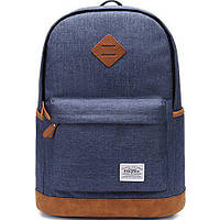 Городской рюкзак Kaukko Canvas Backpack (blue)