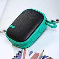 Колонка Bluetooth 3.0 - Remax RB-X2 - Rubbered Portable Speaker, зеленый, фото 1