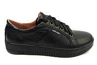 Подростковые туфли для мальчиков кожаные eD0027