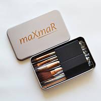 Набор кистей в металлическом футляре maXmaR (7 штук)