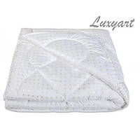 Одеяло Лебяжий пух ТИК, 100%  хлопок, 200х210 см