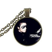 Стильный кулон для поклонников Майкл Джексон