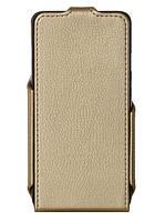 Золотистый чехол Huawei Y6 Pro, экокожа, Red Point