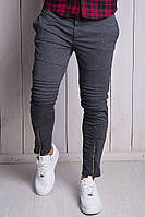 Штаны мужски Kenzo серые брюки