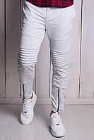 Штаны мужски Kenzo белые брюки