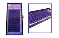 Фиолетовые ресницы , фото 1