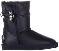 UGG Gothic Black Leather