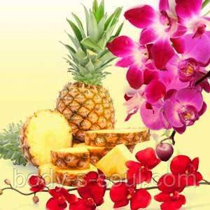 Косметическая отдушка ананас и орхидея