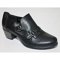 Женские черные туфли ботильоны ботиночки демисезонные