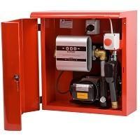 Топливораздаточная мини колонка для топлива в металлическом ящике ARMADILLO 70, 220В, 70 л/мин