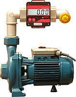 Центробежный насос SCG-150 с расходомером для учета дизельного топлива 220В, 150-250 л/мин, фото 1