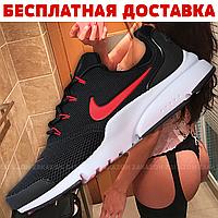Мужские кроссовки Nike Presto Fly (Black/Черные)