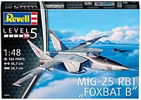 Самолет-разведчик MiG-25 RBT Foxbat B, 1:48, Revell