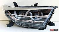 Toyota Highlander XU40 оптика передняя ксеноновая UU-стиль