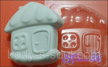 Пластиковая форма для мыла  Домик