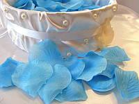 Лепестки роз искусственные Голубые (арт. RP-7)