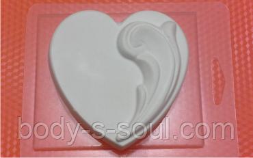 Пластиковая форма для мыла  настроение