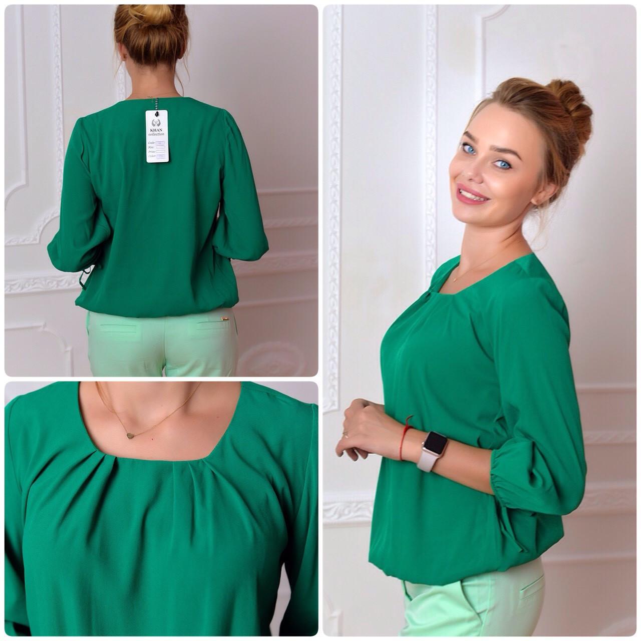 Блузка женская, модель 776, зеленый