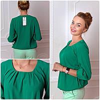 Блузка женская, модель 776, зеленый, фото 1