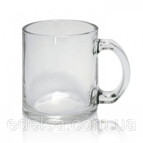 Кружка скляна з фото або логотипом