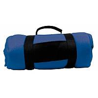 Флисовый плед Nashville 180x120 см, синий, от 10 шт