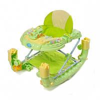 Детский ходунки TILLY (T-443 GREEN) с качалкой KK