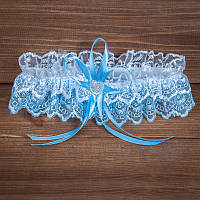 Свадебная подвязка ажурная (арт.G-008-1)
