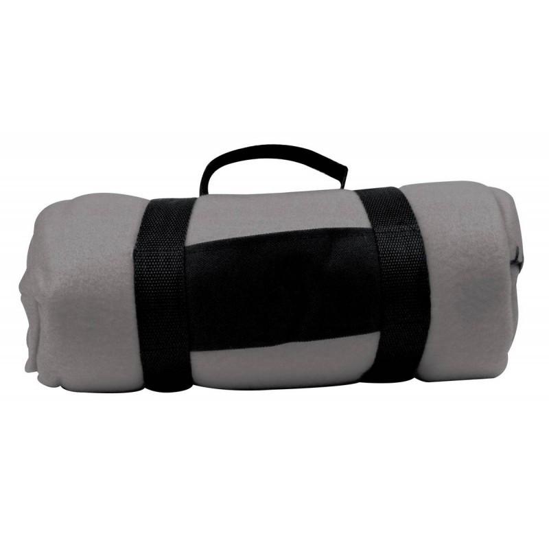 Флисовый плед Nashville 180x120 см, серый, розница