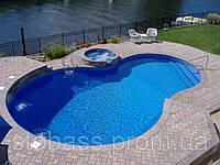 Овальный полипропиленовый бассейн 6.0х3.0х1.6