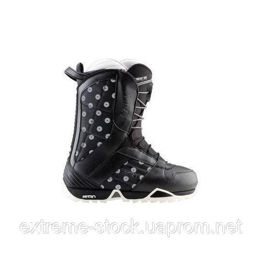 Ботинки для сноуборда Nitro BARAGE W Ж черный 36.5