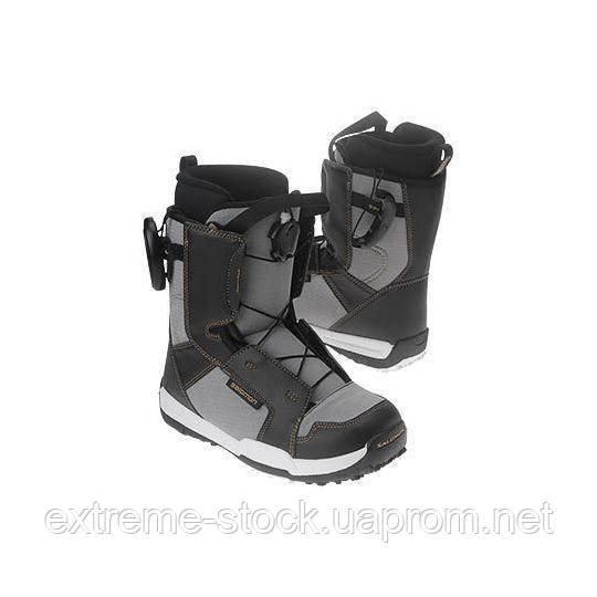 Ботинки для сноуборда Salomon TALAPUS черно-серый 36.5