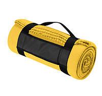 Флисовый плед Nashville 180x120 см, желтый, розница