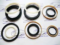Ремкомплект гидроцилиндра подъёма рамы (нового образца) (80х40) с манжетодержателями ,КУН-10