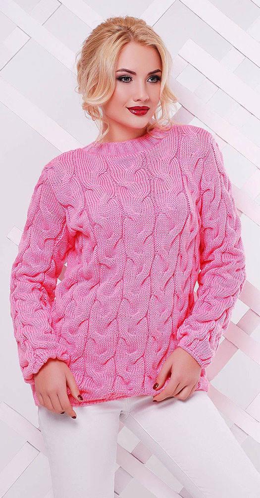 Свитер Лоло розовый
