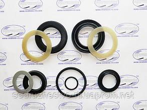 Ремкомплект гідроциліндра управління вилами (ГЦ 80*40) ПС-0.5 / ПС-0.8 навантажувач стогомет