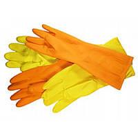 Перчатки хозяйственные латексные LATEX