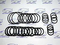 Набор резиновых колец механика №3 (30 колец), (сечен.от 3, 0 мм до 5, 0 мм внутрен. от 29, 0 мм до 70, 0 мм)