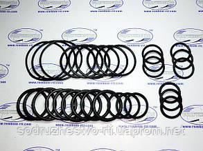 Набор резиновых колец механика №3 (сечение от 3.0 мм до 5.0 мм внутренний d от 28.5 мм до 68.5 мм) 30 колец