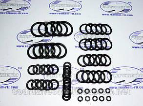 Набор резиновых колец механика №1 (сечением от 1.9 мм до 3.0 мм внутренний d от 4.7 до 24.5 мм) 60 колец