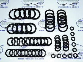 Набор резиновых колец механика №2 (сечение от 2.5 мм до 3.6 мм внутренний d от 5.7 мм до 25.5 мм) 60 колец