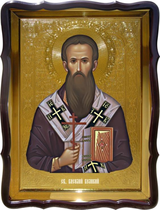 Икона Святой Василий Великий  для православной церкви